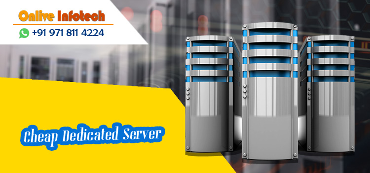 Onlive Infotech Offers Affordable Cheap Dedicated Server Services to Large Businesses