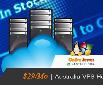 Get Australia VPS Server Hosting for better functioning by Onlive Server
