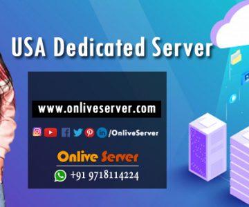 Effective USA Dedicated Server Hosting For Website Performance